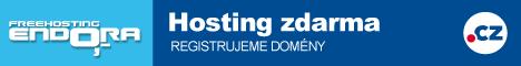 Endora.cz: Hosting zdarma