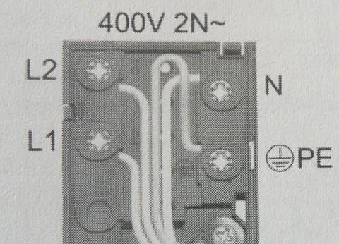 Připojení varné desky na 230v