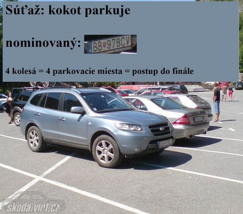 Jak parkuje blbec... - obrázek od alpin vložen 22.11.2010 09:10:34