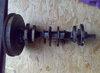 Zástavba motoru Fabia do 742: klika Fabia se setrvačníkem