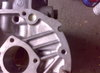 Zástavba motoru Fabia do 742: výřez - vyvrtáno přes přiložené prsa