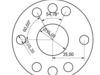 Zástavba motoru Fabia do 742: přesný rozměr pro svrtání setrvačníku s klikou ( samozřejmě se vrtá do setrvačníku ) by Martin Bláha