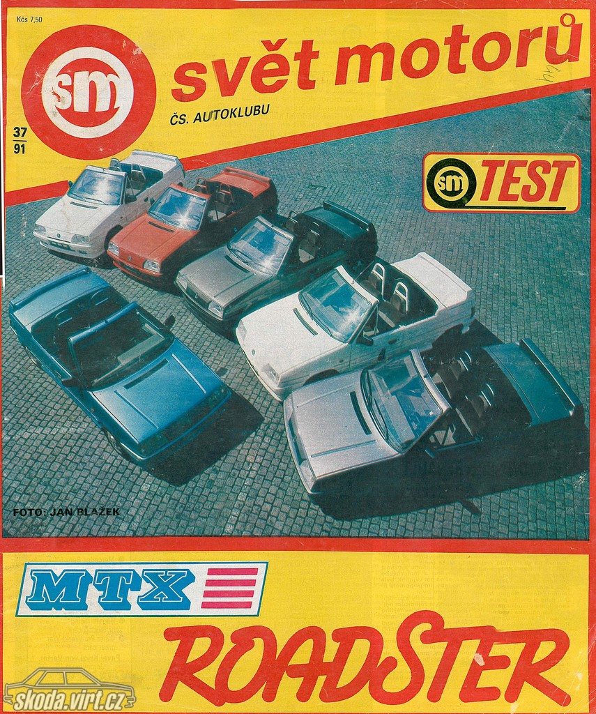 Mtx roadster 1991 svět motorů uploadováno 23 03 2010 17 50 16