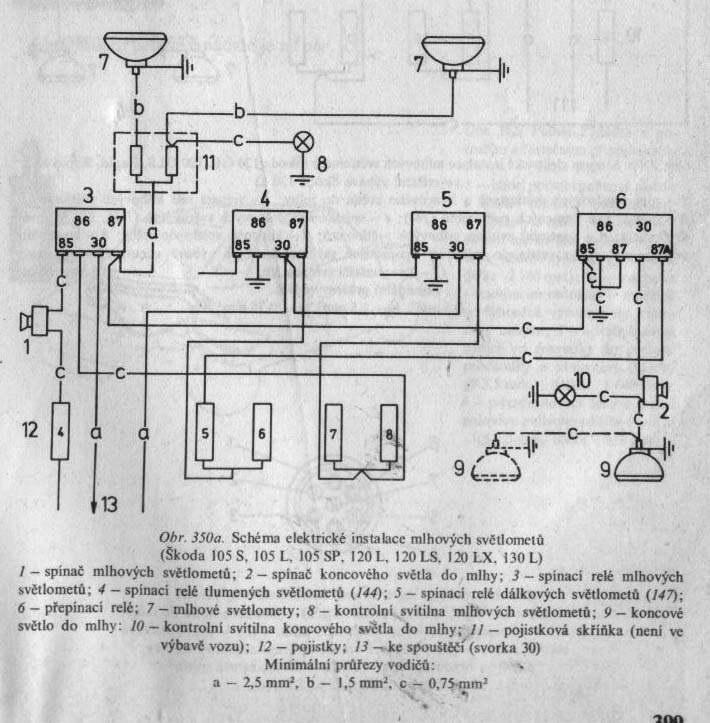 Elektricka Schemata Elektrika Clanky Skoda Virt Cz Elektricka